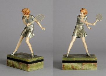 ferdinand-preiss-scultura-avorio-tennis-player