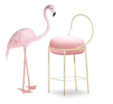 Flamingo stool