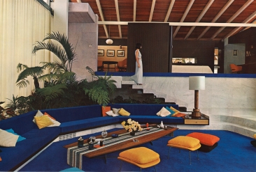 Artigas, Luis Echeverría House, Gardens of El Pedregal, Mexico City, 1955, remodeled 1969.