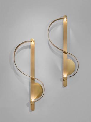 NOMAD MONACO Clé de Sol II Wall light by CHARLES KALPAKIAN, Galerie BSL