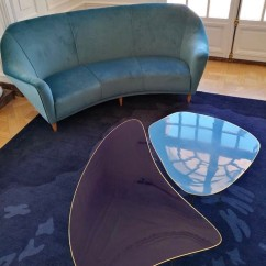 NOMAD MONACO Ico Parisi furniture featured in the Nilufar Gallery