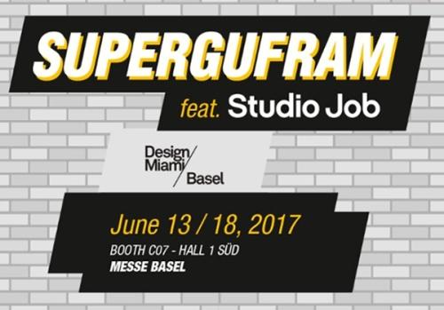 SUPERGUFRAM feat. Studio Job DESIGNMIAMI-BASEL