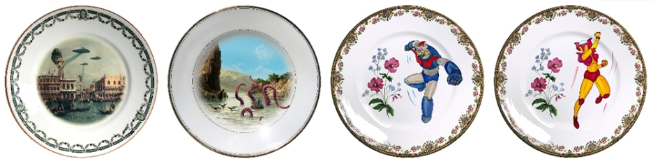 Artefacto ANTIQUE PLATES 4