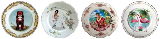 Artefacto ANTIQUE PLATES 5