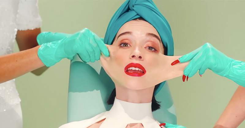 st-vincent video los-angeless