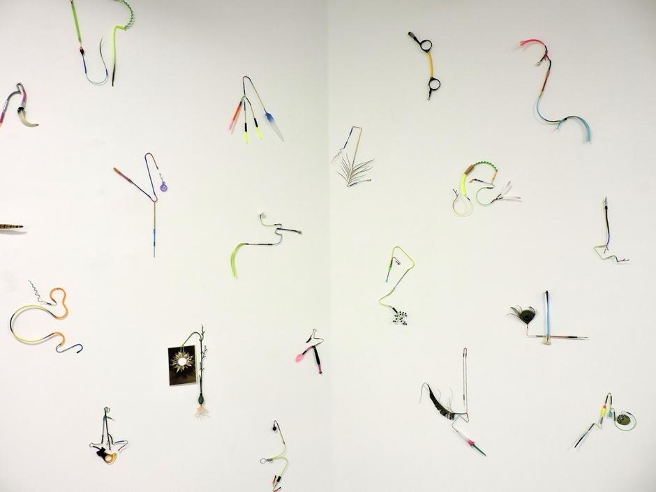 Umberto Chiodi assemblaggi parete