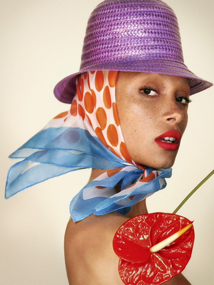 adwoa aboah marc jacobs beauty adv